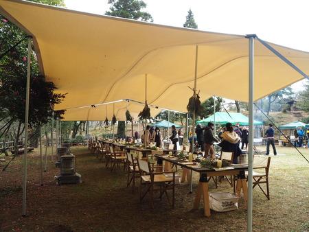 4-雲仙温泉 諏訪の池 天幕レストランPB291483