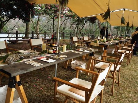 6-雲仙温泉 諏訪の池 天幕レストランPB291490