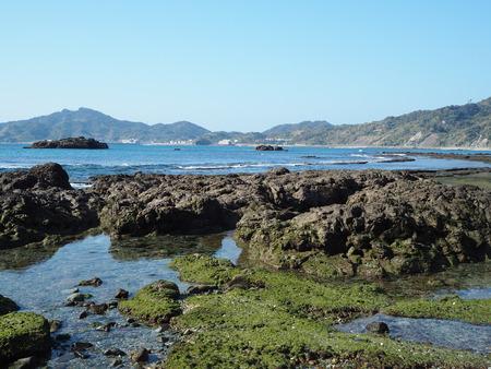 16-長崎市野母崎 脇岬海水浴場 ビーチロックP1100175