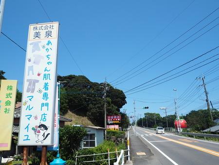 8-諫早市小長井町フルーツバス停ぶとうP8180122