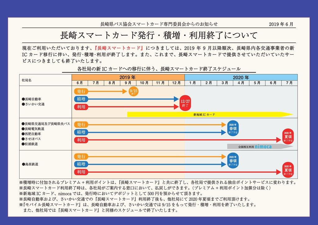 エヌ タス カード 長崎 バス
