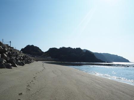 7-長崎市野母崎 脇岬海水浴場 ビーチロックP1100113