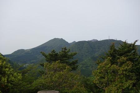 25-宝原つつじ公園 妙見岳、平成新山方向DSC04663