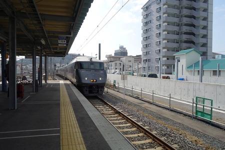 8-JR九州 特急かもめ グリーン車 個室DSC08269