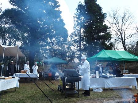 10-雲仙温泉 諏訪の池 天幕レストランPB291602