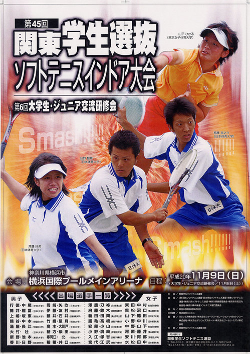 関東学生インドア(2008)