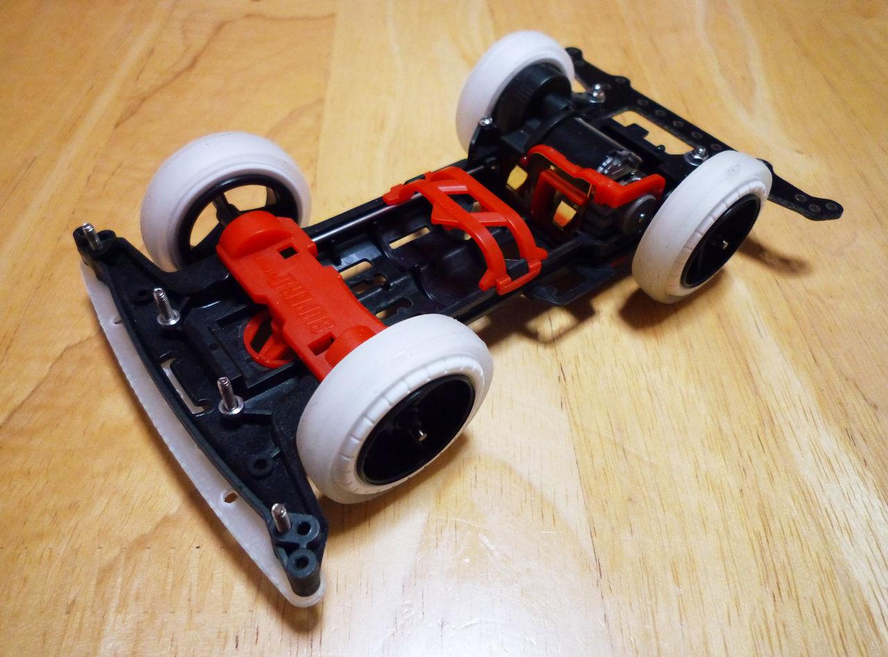 ミニ四駆 タグの一覧へ おさるの「ミニ四駆・改造自論」ブログ : ★MSシャーシの改造① おさる