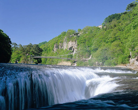 吹割の滝(1)(沼田市)