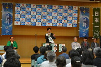石川勝個人演説会