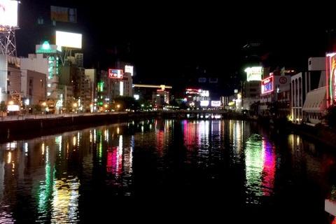 福岡中洲の夜景