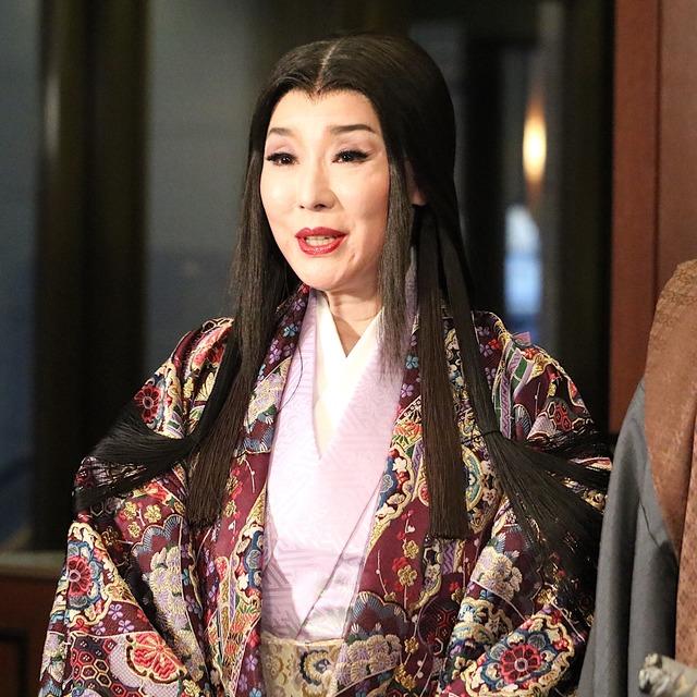 博多座「魔界転生」記者会見:浅野ゆう子さん