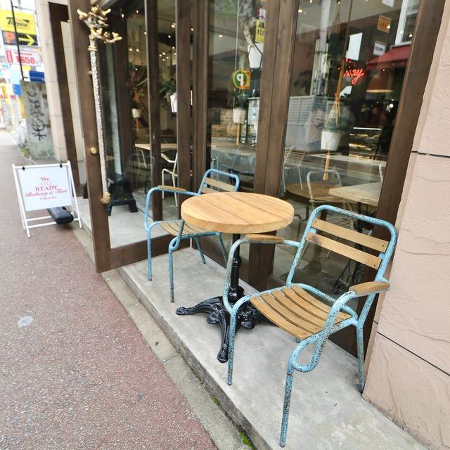 福岡大名「ウイ・アー・レディー」オープンカフェ