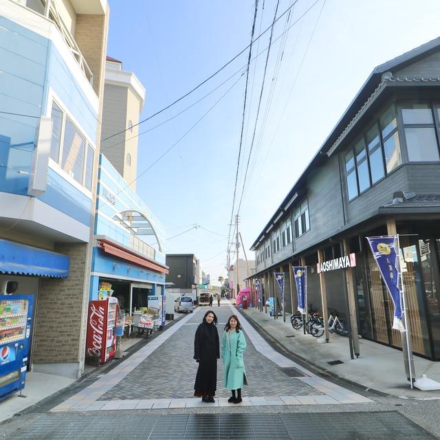 ORC福岡-宮崎便で行く女子旅。青島参道商店街。