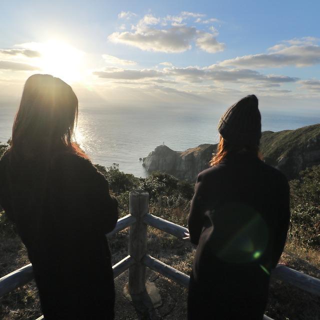 ORC福岡-五島福江便で行く女子旅。大瀬崎灯台。