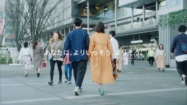 JR博多シティ「10周年ビジュアル」TVCM