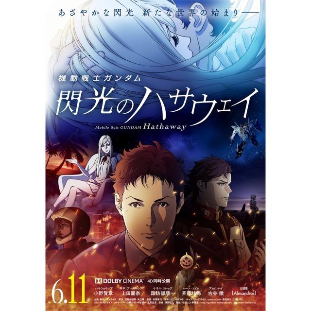 「機動戦士ガンダム 閃光のハサウェイ」メインポスター