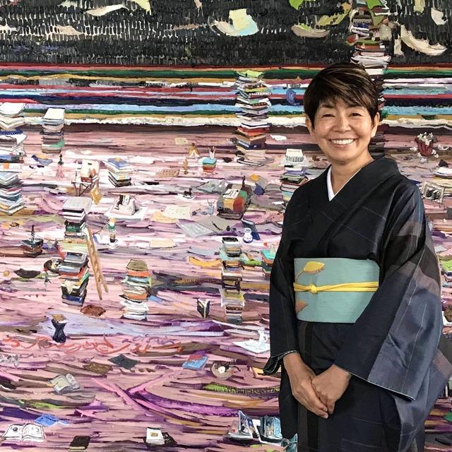 石鍋博子さんトークイベントさん『現代アートを買うということ』