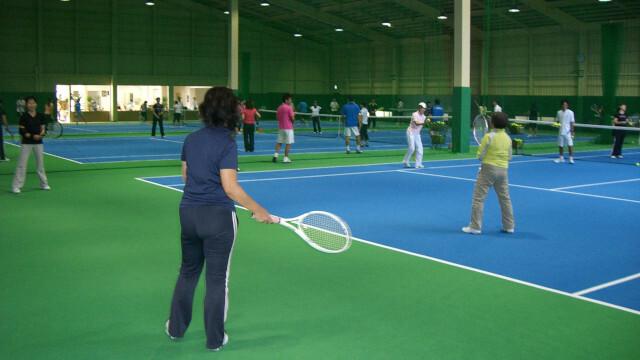 「アサヒ緑健 久山テニス俱楽部」会員制