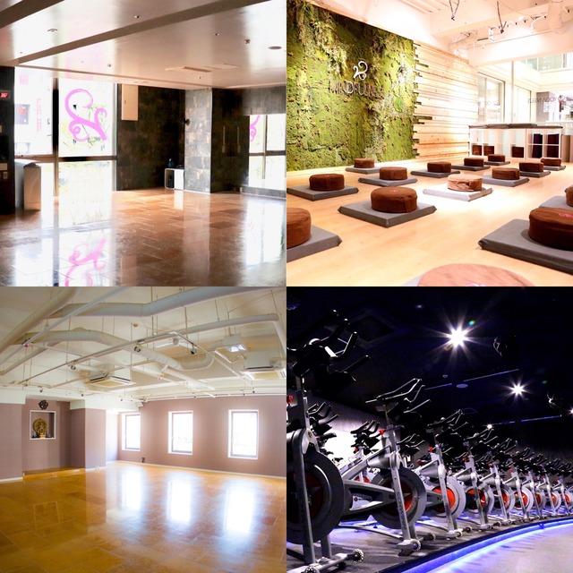 日本初の制菌加工スタジオ「YOGABREEZE」「BASECYCLE」
