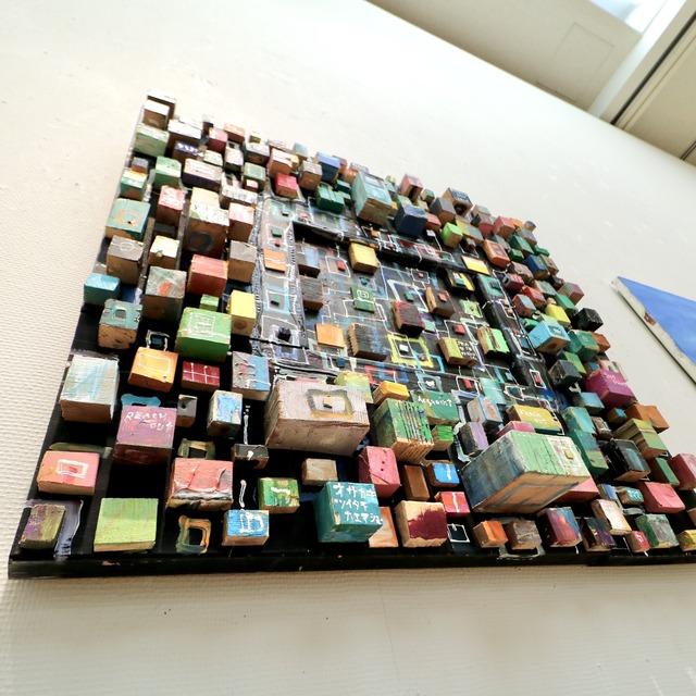 福岡アジア美術館「木梨憲武展 Timing‐瞬間の光り」
