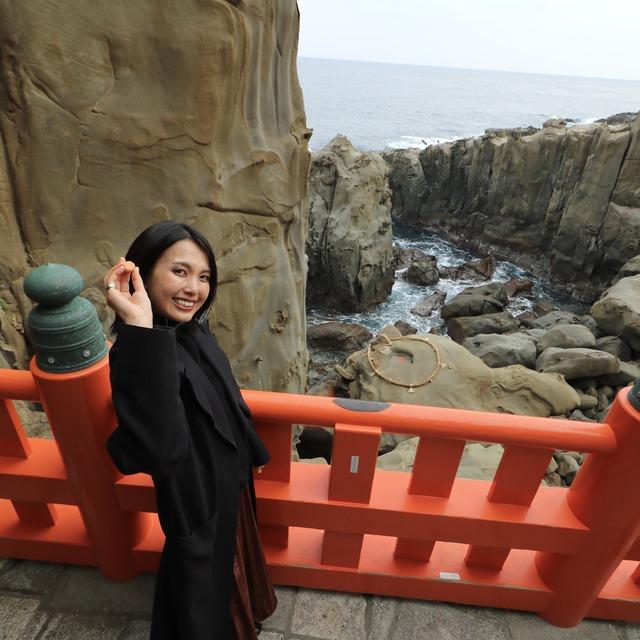 ORC福岡-宮崎便で行く女子旅。鵜戸神宮(うどじんぐう)の運玉。