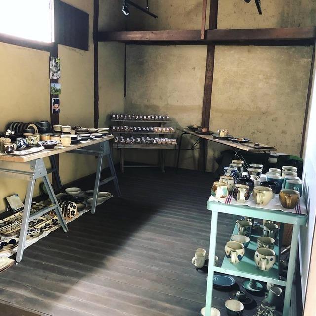 沖縄の器と焼き菓子展 YACHIMOON×comum_05