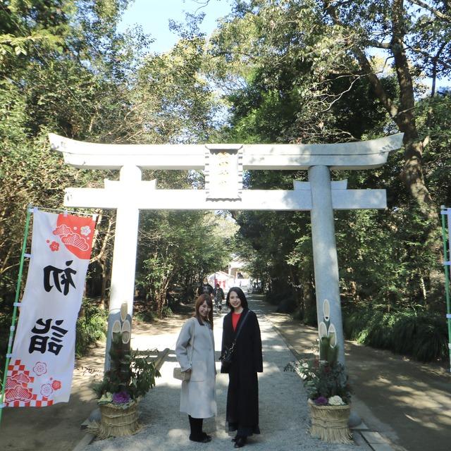 ORC福岡-宮崎便で行く女子旅。江田神社。