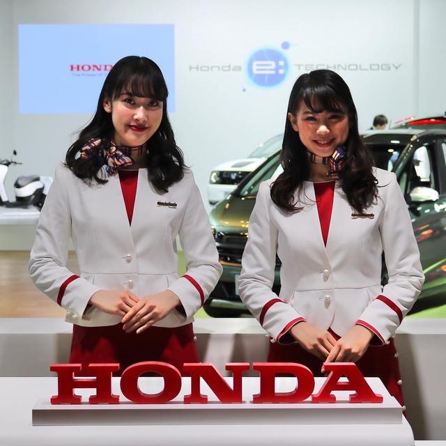 福岡モーターショー2019_ホンダ_コンパニオン