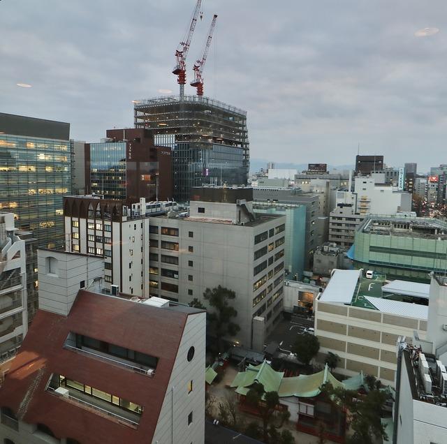 西鉄イン福岡13F「レストラン&バー ブロッソ」景色
