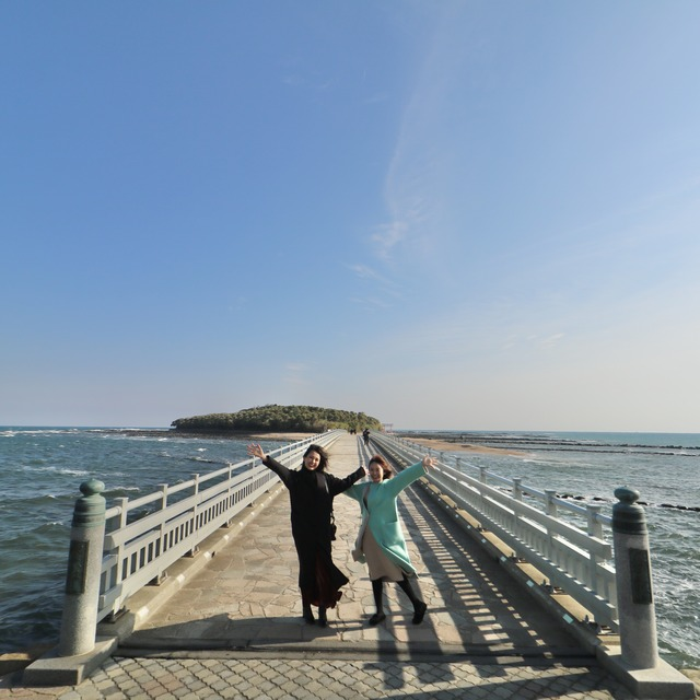 ORC福岡-宮崎便で行く女子旅。青島の弥生橋。