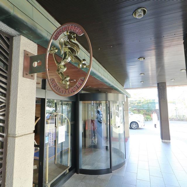 西鉄グランドホテル エントランス