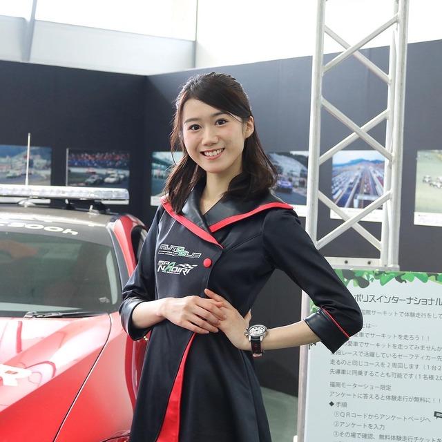 福岡モーターショー2019_オートポリス_Arisaさん