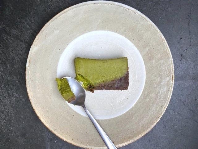 810cheesecake「八女抹茶あんこチーズケーキ」