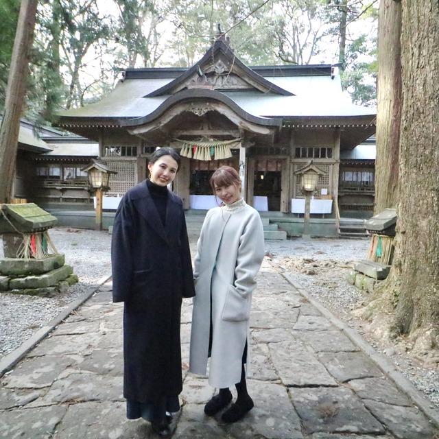 ORC福岡-宮崎便で行く女子旅。高千穂神社。