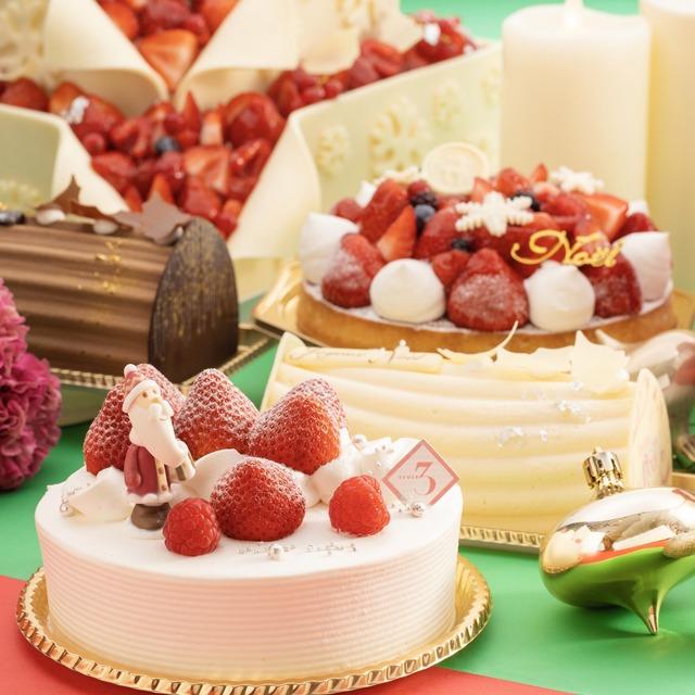 ANAクラウンプラザホテル福岡_クリスマスケーキ01