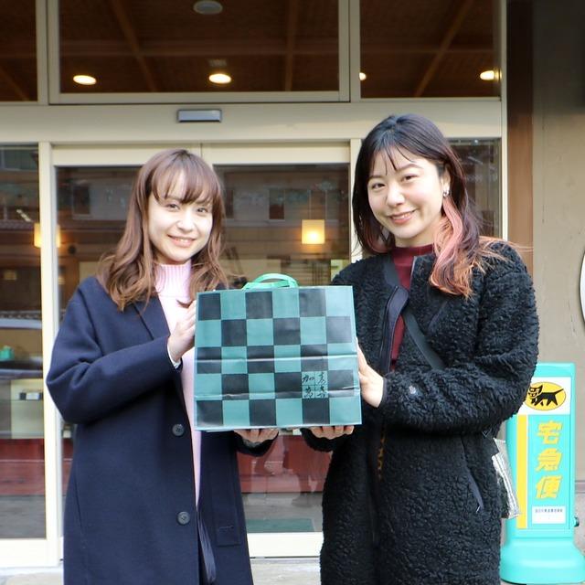 ORC福岡-対馬便で行く女子旅。渡辺菓子舗。