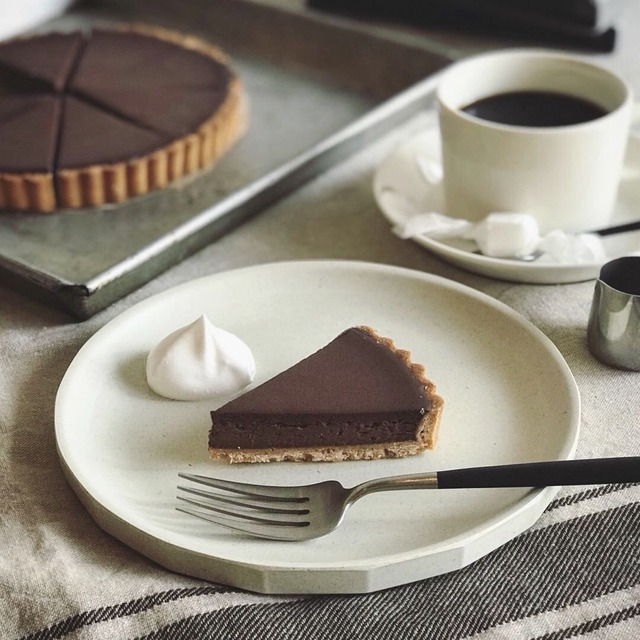オルトカフェ:チョコレートタルト