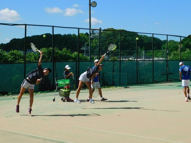 「アサヒ緑健 久山テニス俱楽部」強化ジュニアレポート