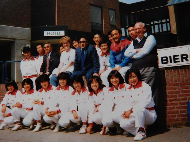 田島幹夫さんのオランダ遠征