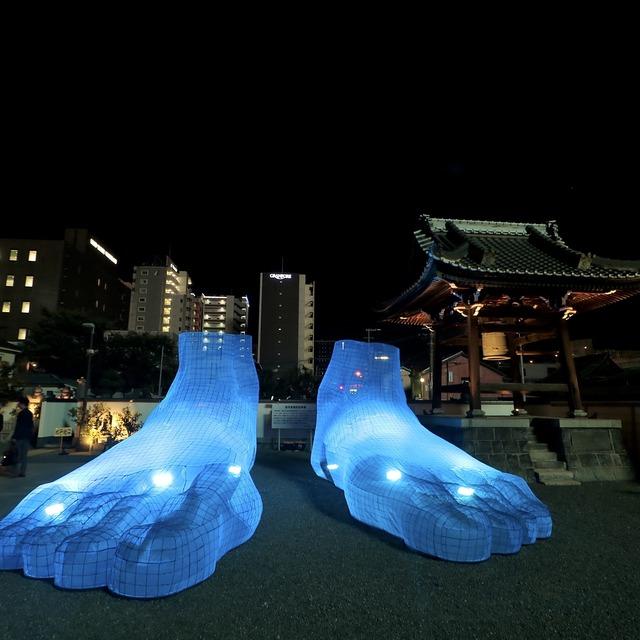 博多旧市街ライトアップウォーク2019千年煌夜_善導寺05