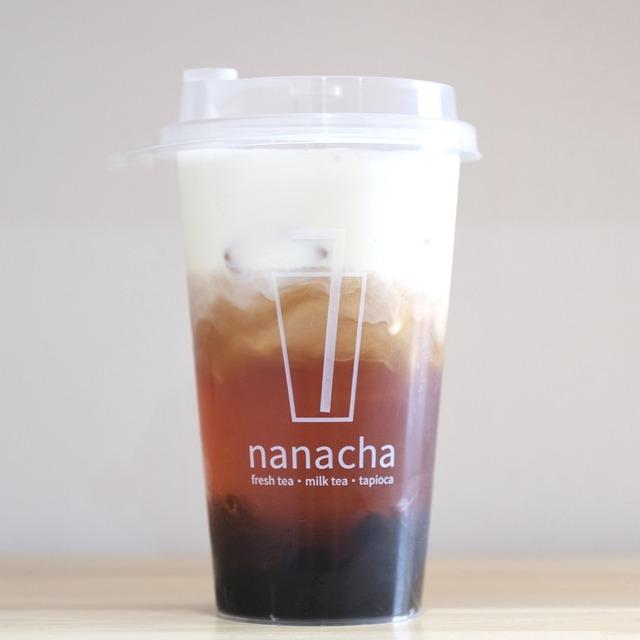 「ナナチャ nanacha 西新店」タピオカチーズティ