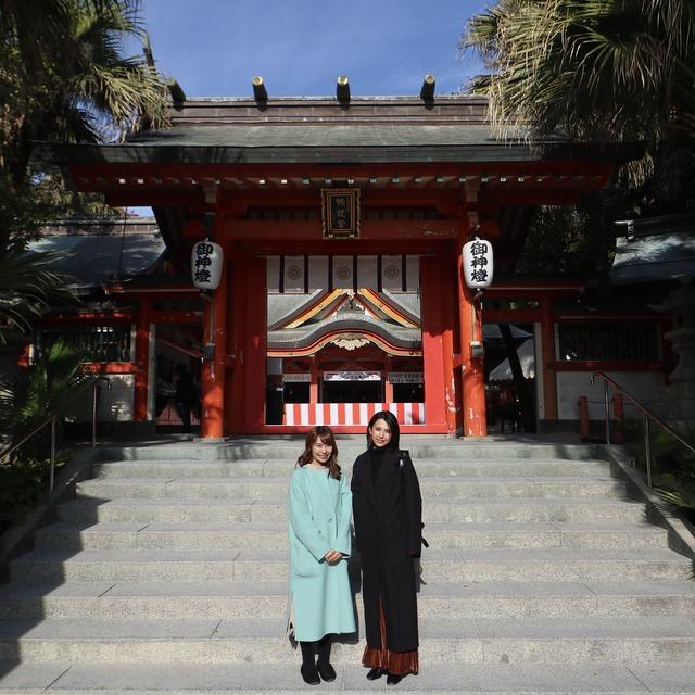 ORC福岡-宮崎便で行く女子旅。青島神社。