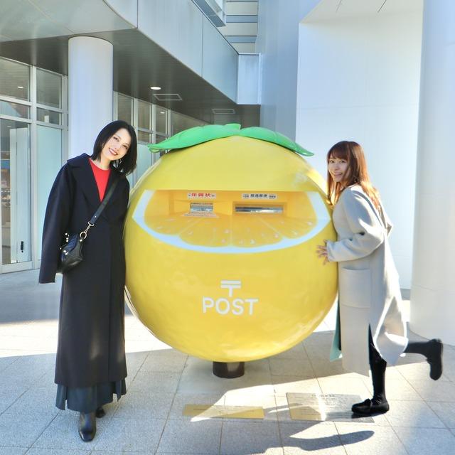 ORC宮崎女子旅。アミュプラザみやざき「日向夏ポスト」。