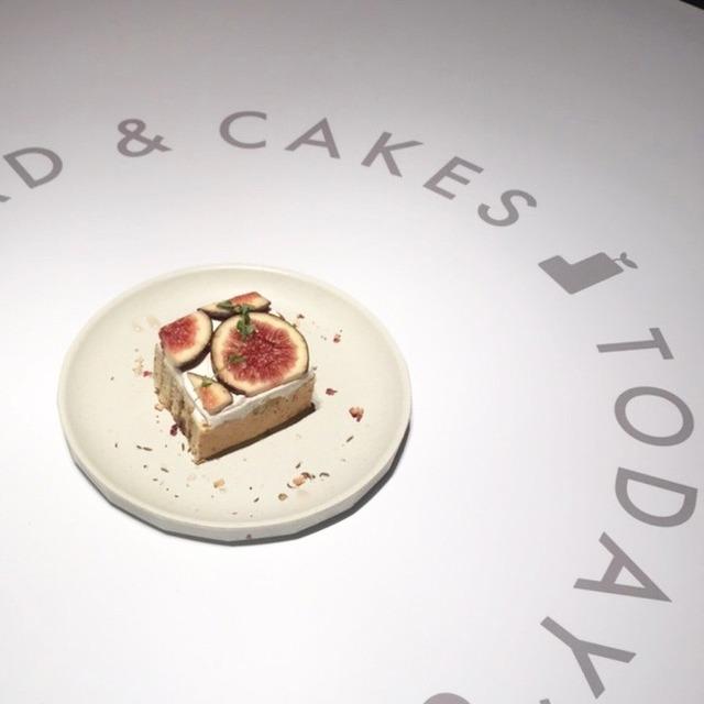 オルトカフェ:いちじくとアールグレイのシフォンケーキ