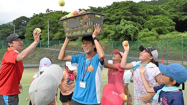 「アサヒ緑健 久山テニス俱楽部」イベント