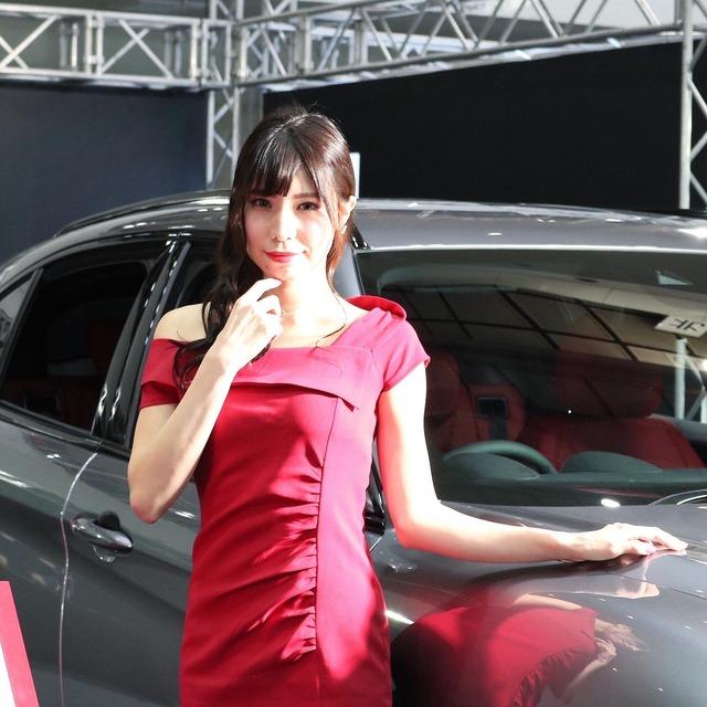 福岡モーターショー2019_アルファロメオ_山岡飛鳥さん