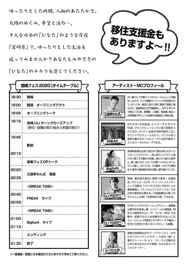 宮崎フェス2020