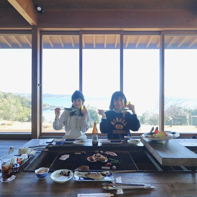 ORC福岡-五島福江便で行く女子旅。椿茶屋。