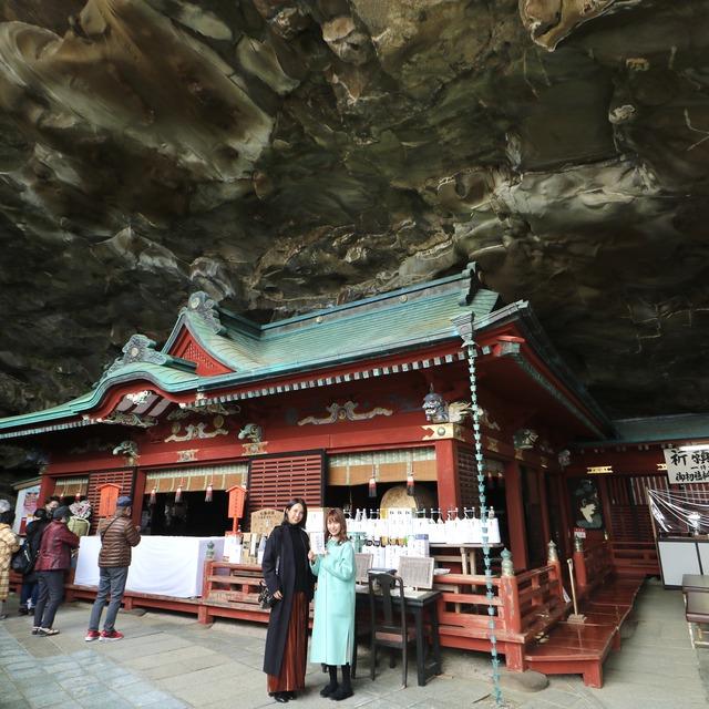 ORC福岡-宮崎便で行く女子旅。鵜戸神宮(うどじんぐう)の御本殿。