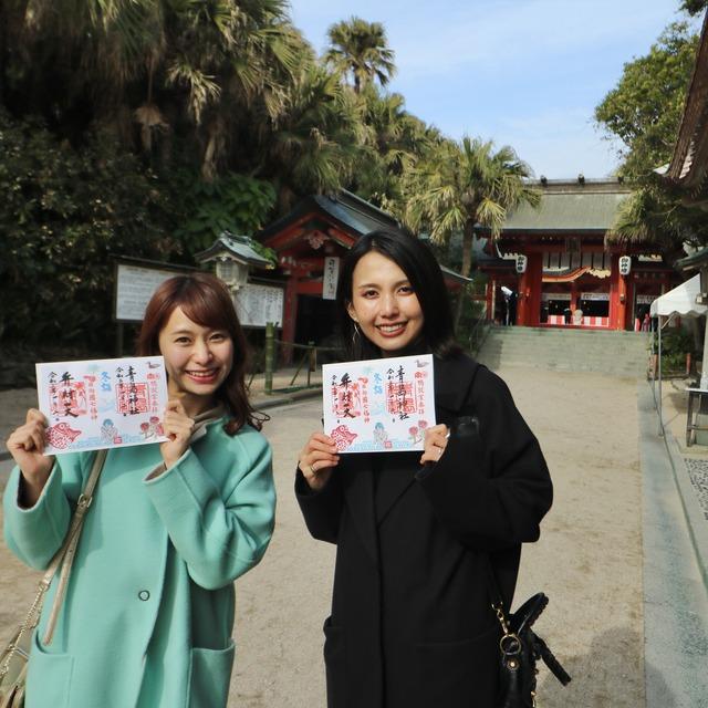 ORC福岡-宮崎便で行く女子旅。青島と青島神社。